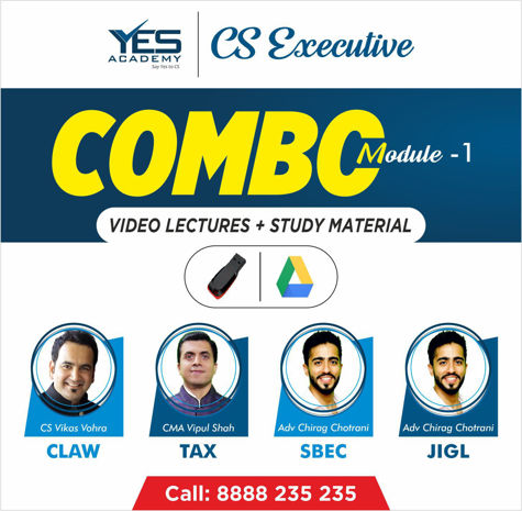 Picture of CS Executive - Module 1 COMBO