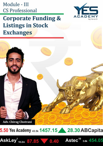 Picture of Corporate Funding and Listing in Stock Exchanges